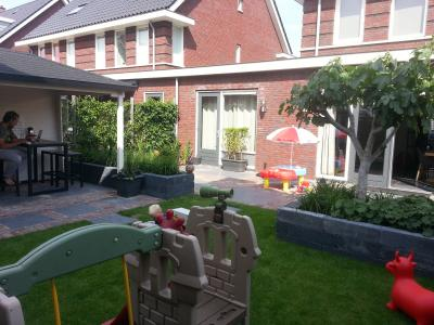 Barendrecht moderne achtertuin