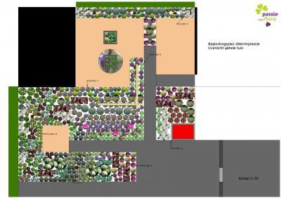 Beplantingsplan Sirjansland